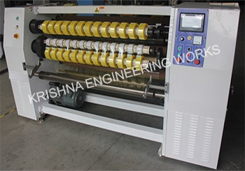 BOPP Tape Slitting Machine